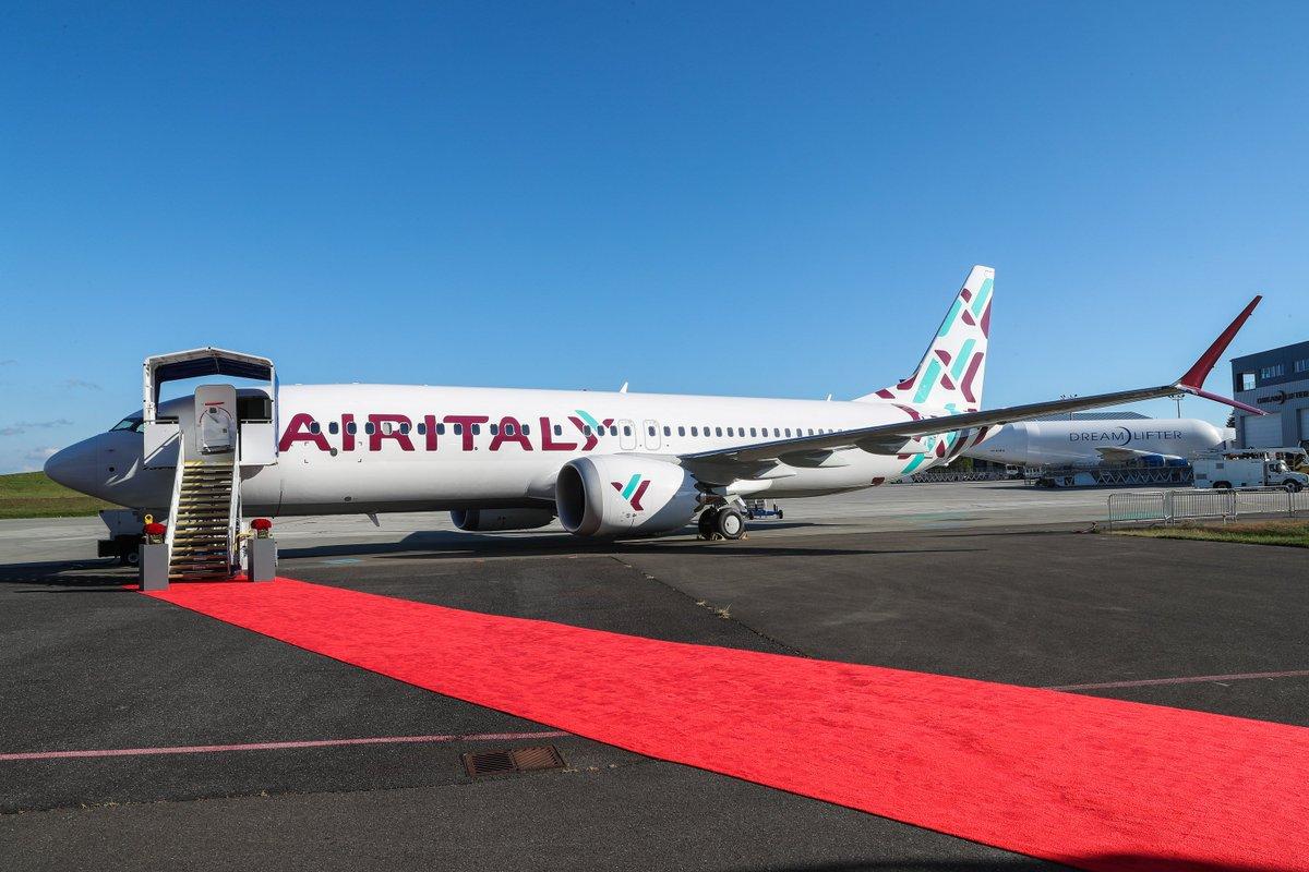 Resultado de imagen para air italy Boeing 737 max 8
