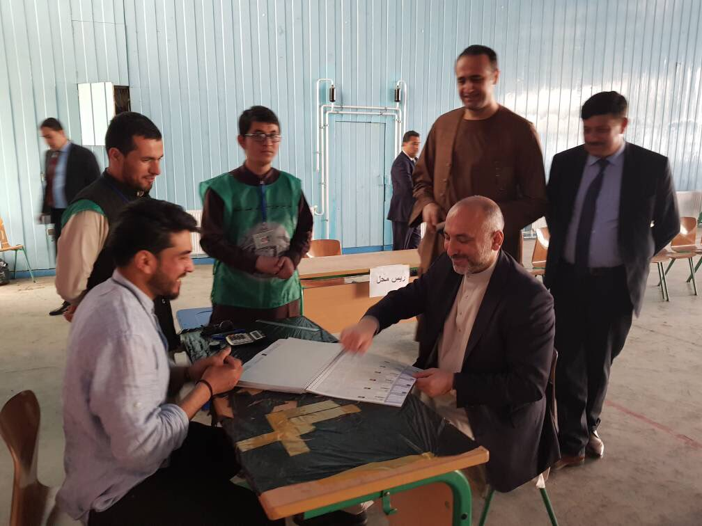 AFG @NSAAtmar registered himself today for voting in the upcoming parliament and district council elections.