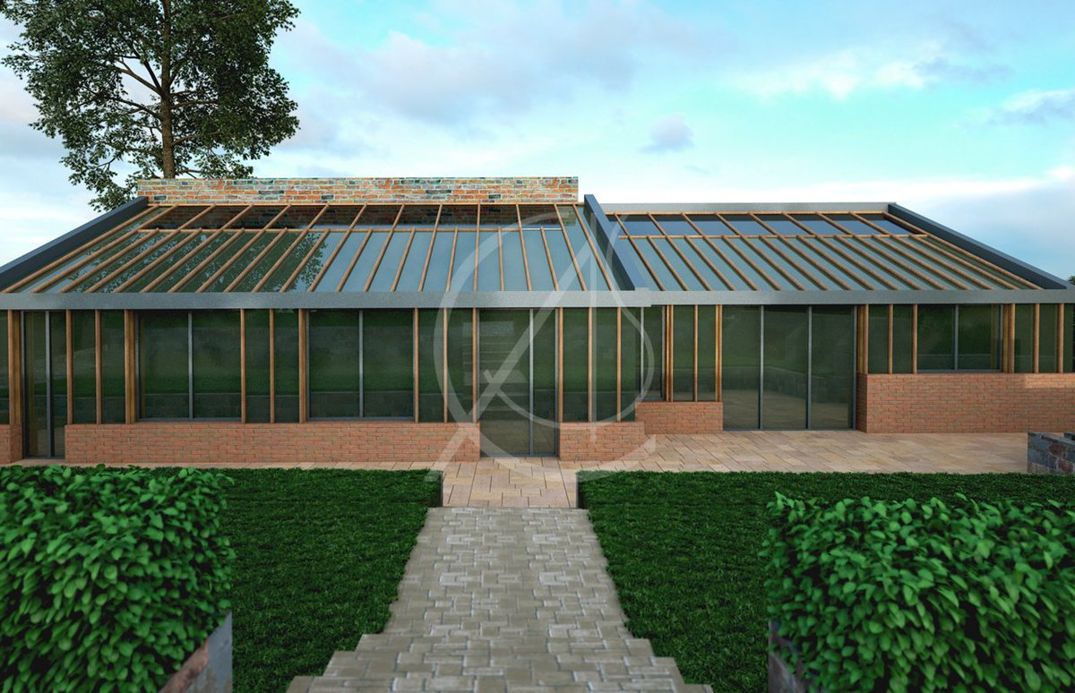 The Render Of This Detached Garden House In #London Pleased The Client, But  The Real Building Was Even More Satisfying Indeed! Http://bit.ly/2HWry8a # Home ...