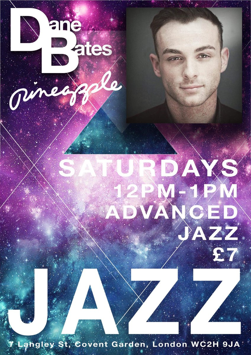 Countdown to Saturday 12-1pm @BatesDane Jazz | Adv **New Class**  Link: 🍍🍍 https://www.pineapple.uk.com/dane-new-class