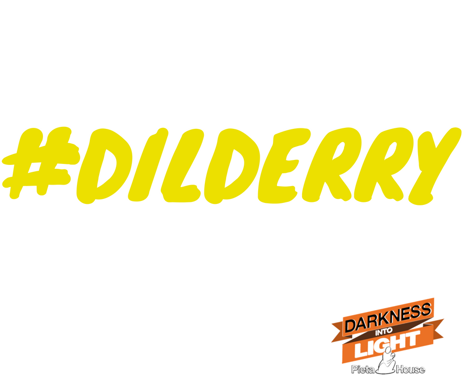 We're using this hashtag on the walk this weekend. Please tag your photos and videos during the walk #dilderry