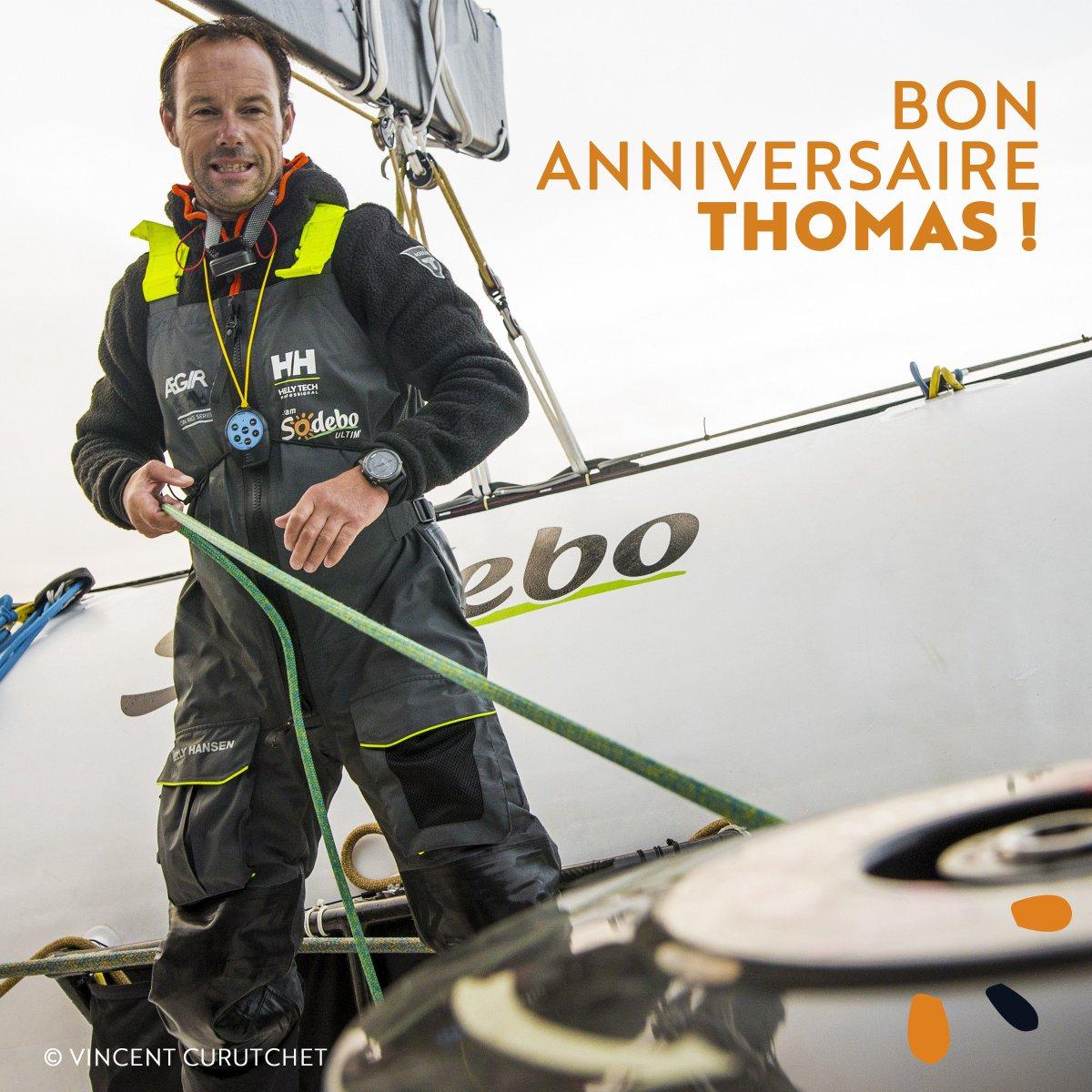 Bon anniversaire à notre skipper Thomas Coville qui fête aujourd\