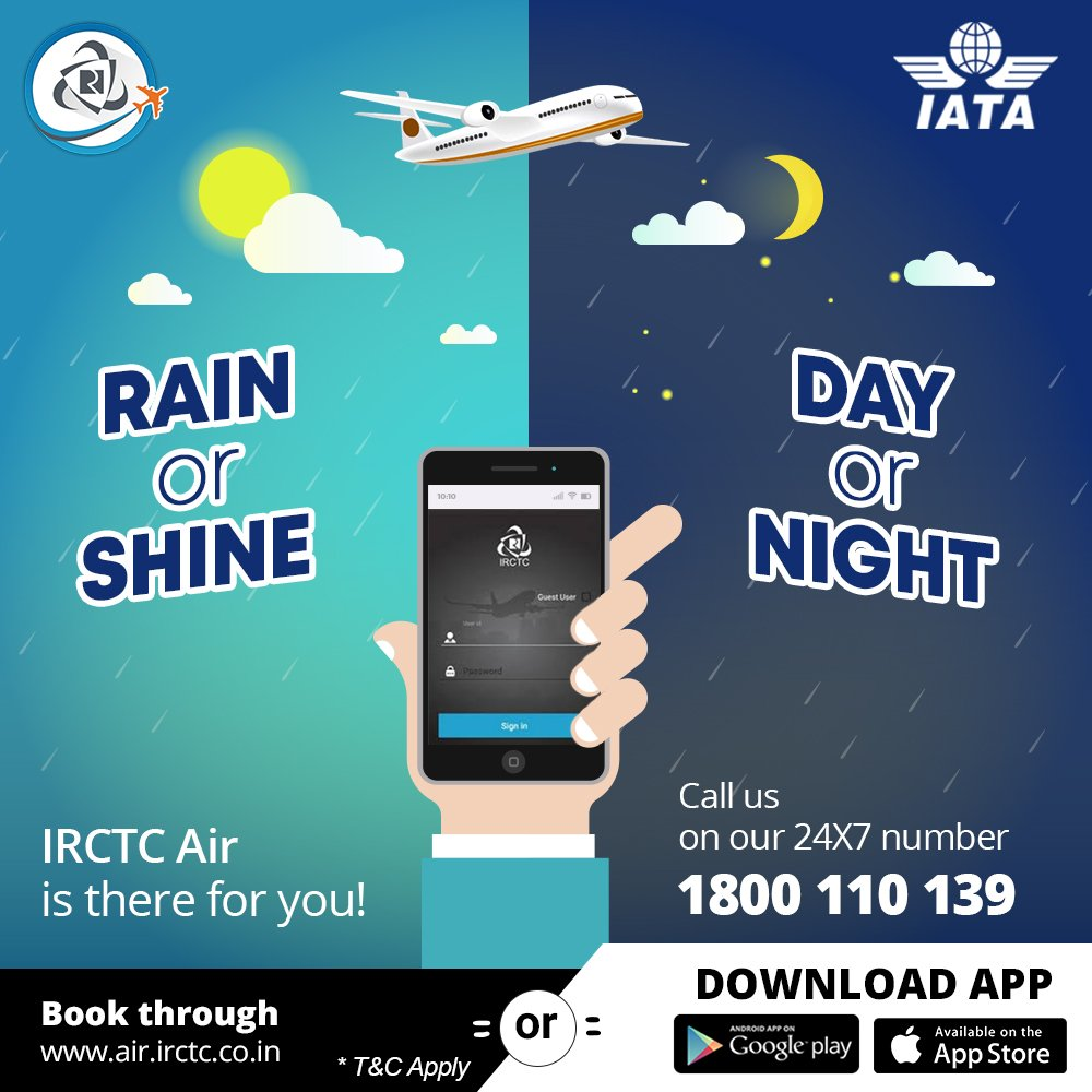 Irctc mobile ticketing.