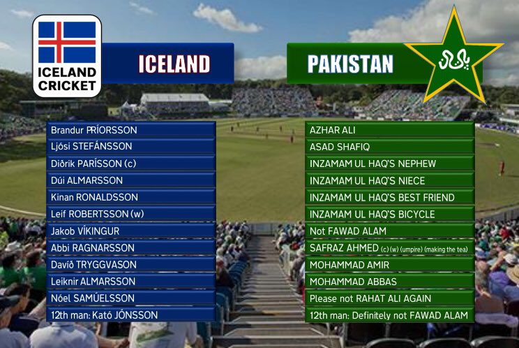 Iceland Cricket On Twitter Ever Since The Icc Announced
