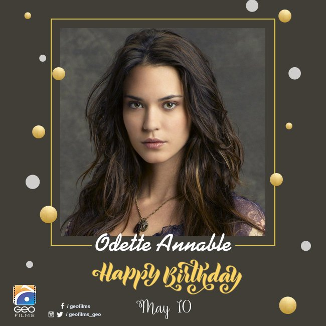 Happy Birthday, Odette Annable!