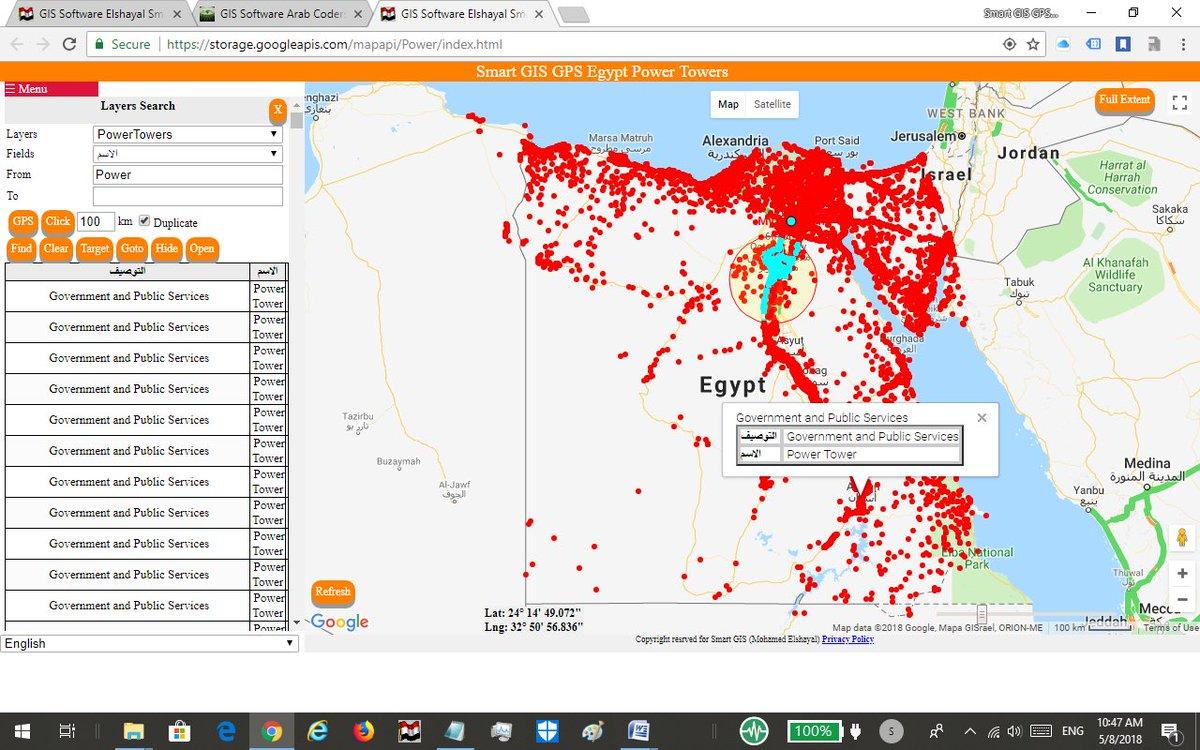 Smart GIS Elshayal on Twitter: