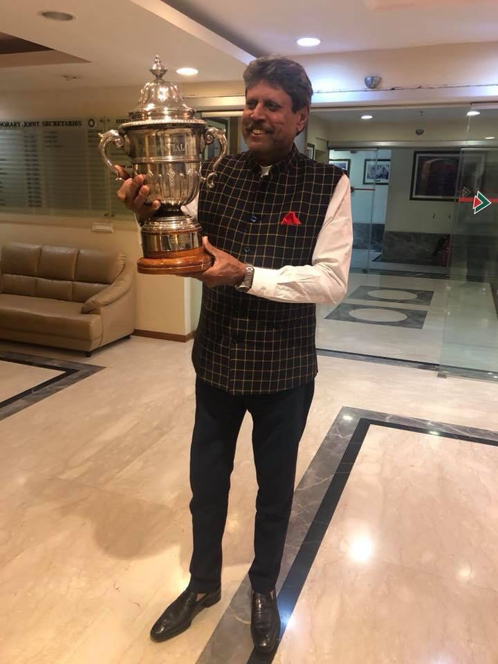 1983 Cup  , Me and my entire team very proud of this beauty which I saw after 1983 at BCCI office in mumbai.