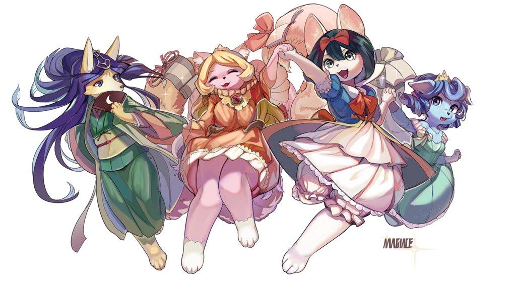 画了喜欢的妖精传姬们,顺便晒一下收集(tcg和ocg的各个版本都齐了除了rc02的cr和ser白雪没有买)