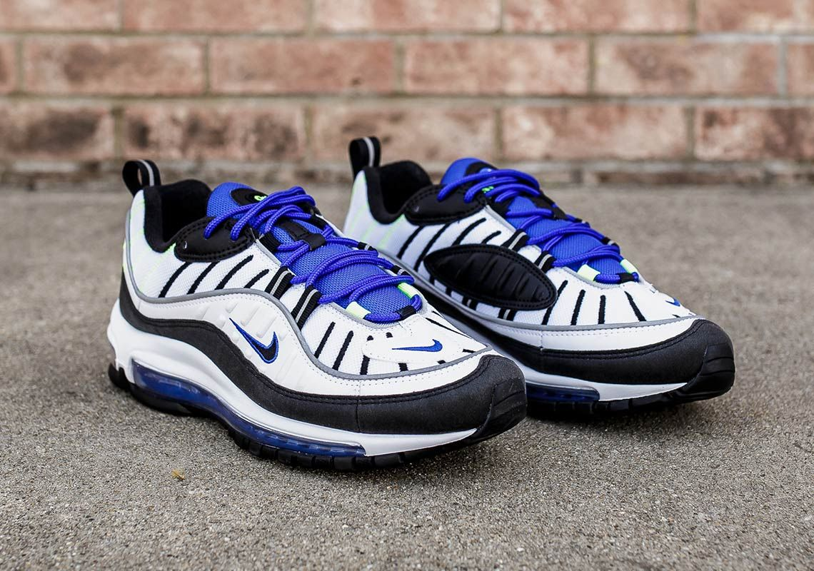 f098fd582248 Now Available Nike Air Max 98  Racer Blue  KU http   bit.ly 2KO4WVg  FNL http   bit.ly 2KRBf5O SH http   bit.ly 2KRcarv JJ http   bit.ly 2KRfZNI  ...