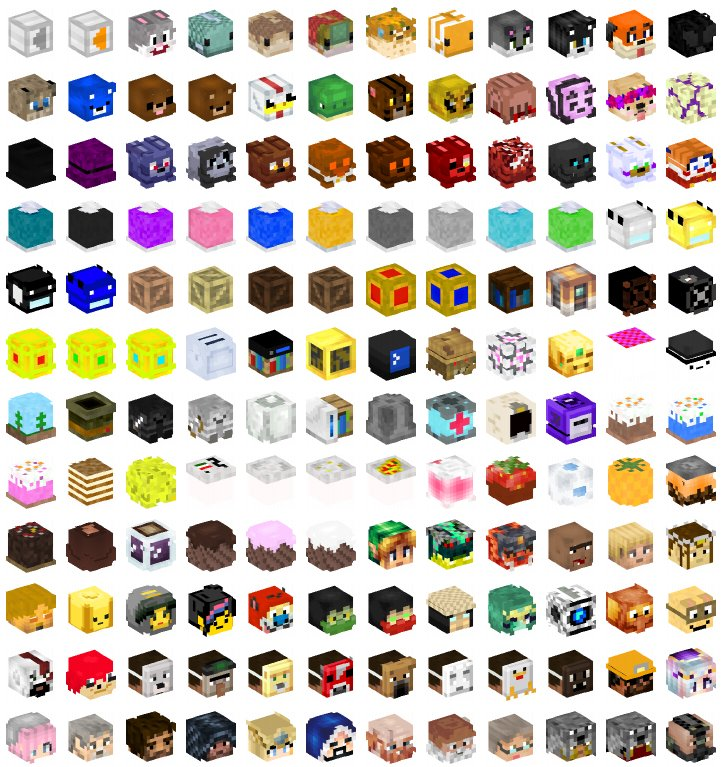 Minecraft Heads Com On Twitter Thursday Update Day Enjoy