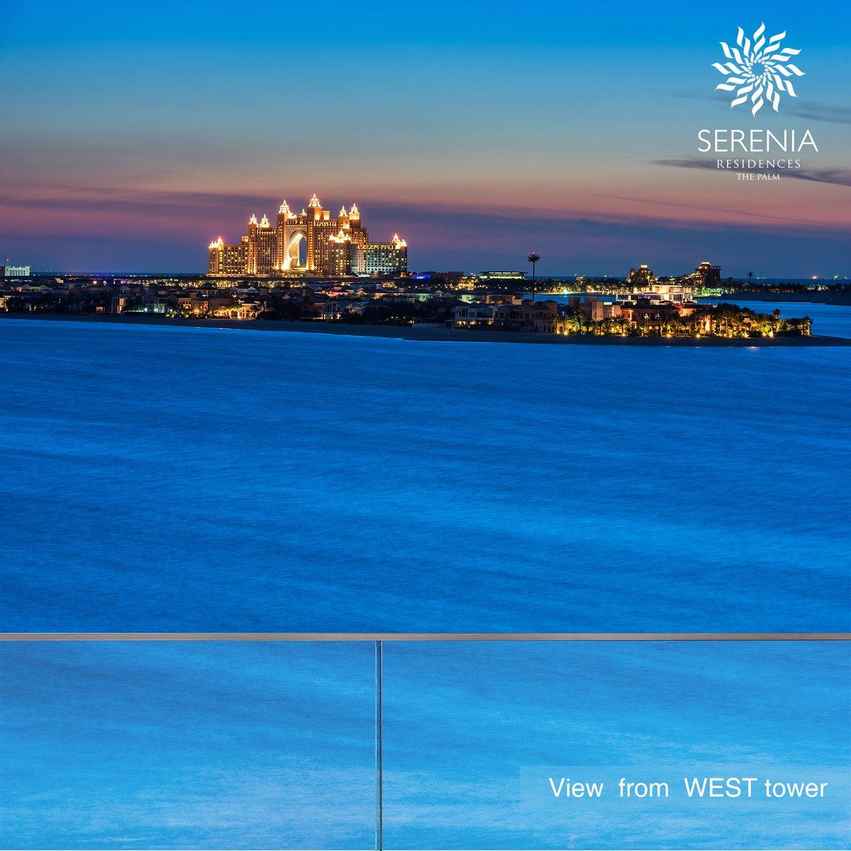 What a magical view from #SereniaThePalm!  #Palma #PalmaProjects #PalmaHolding #PalmJumeirah #DubaiProperty #BeachfrontLiving #SereniaResidences #LuxuryHomes #Exclusivity #LuxuryLifestyle #BeachView  #WonderfullView  #MagicalView