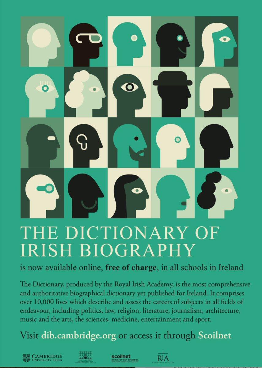 Dict Irish Biography on Twitter: