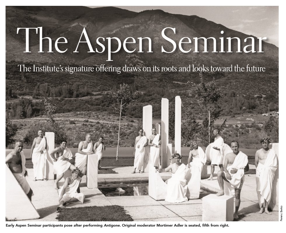 Aspen Leadership Seminars On Twitter Take A Look At One Of Our