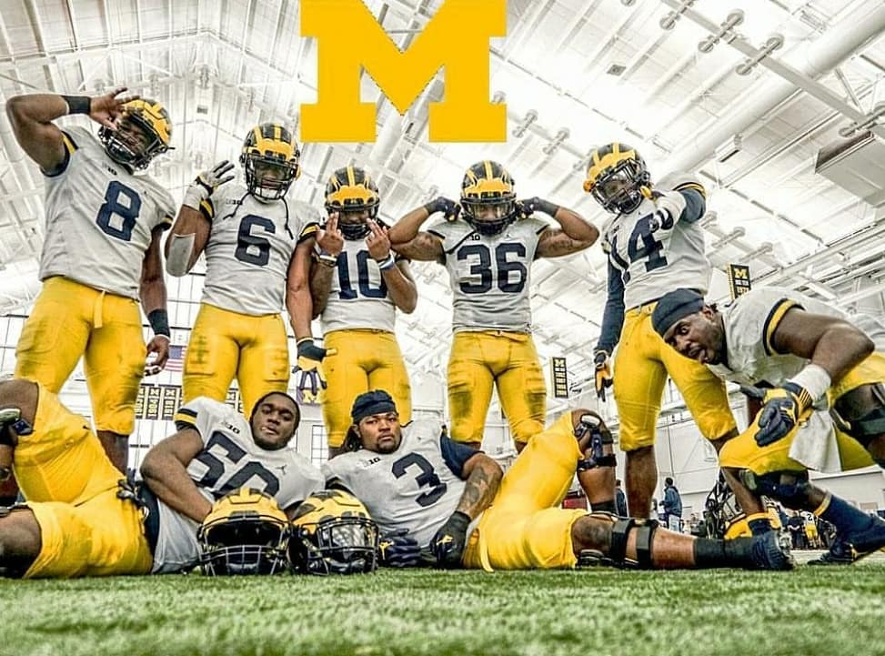 Wouldn't have it any other way. #MichiganFootball #RahGary #GoBlue3