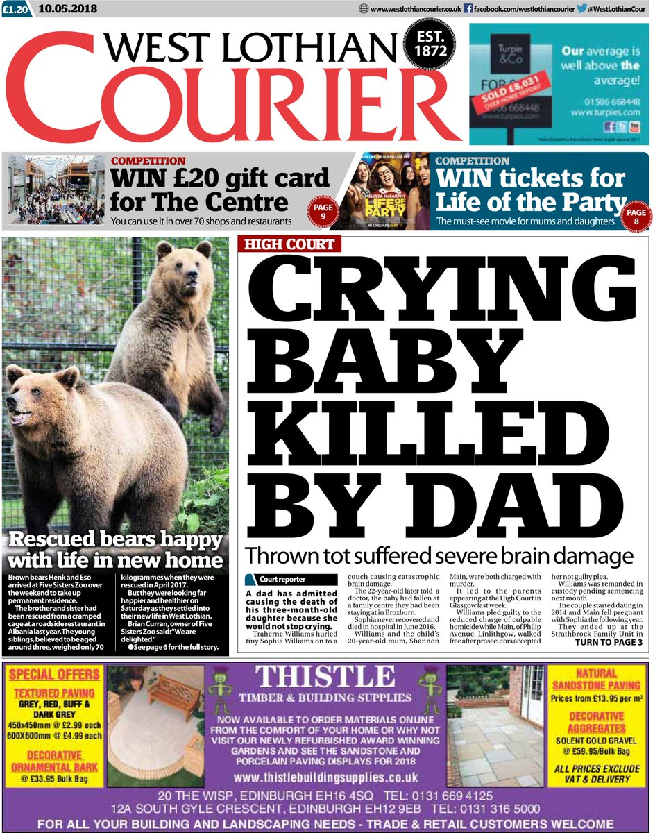 West Lothian courier dating