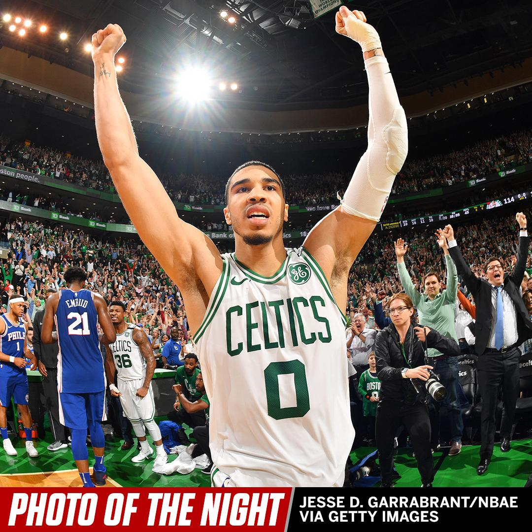 Welcome to the Eastern Conference Finals. #PhotoOfTheNight https://t.co/nkO0pshK65