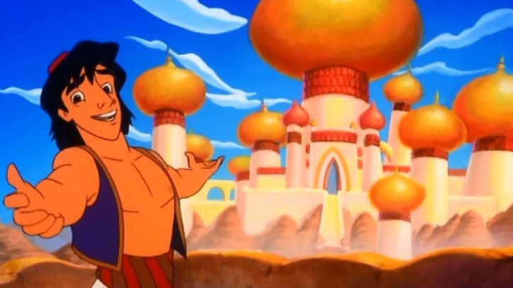 If you ever wonder what kind of knee-jerk stupidity we're up against, just remember 41% of Trump supporters polled said they were in favor of bombing Agrabah.  That's the fictional country from Aladdin.