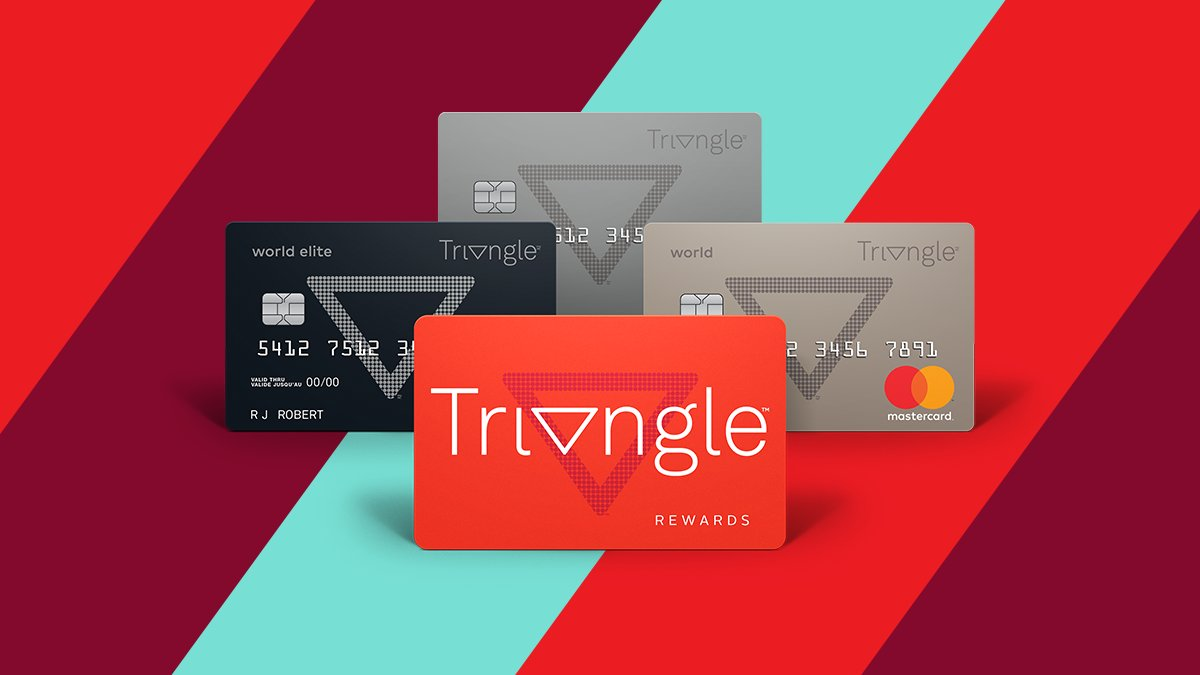 Canadian Tire Mastercard >> Canadian Tire On Twitter Introducing Triangle Get Closer
