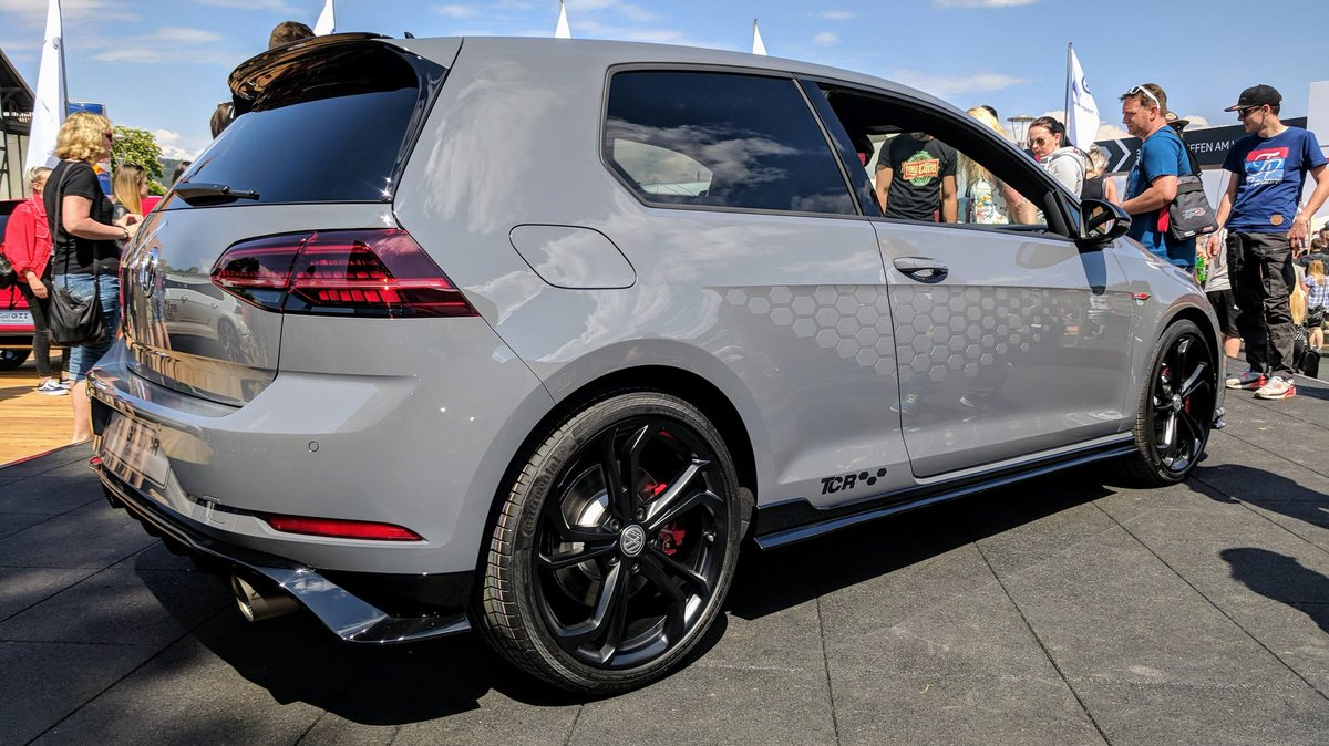 Volkswagen Uk On Twitter Take A Closer Look At The Latest Addition To The Gti Family The Golf Gti Tcr Concept Peoplessupercar
