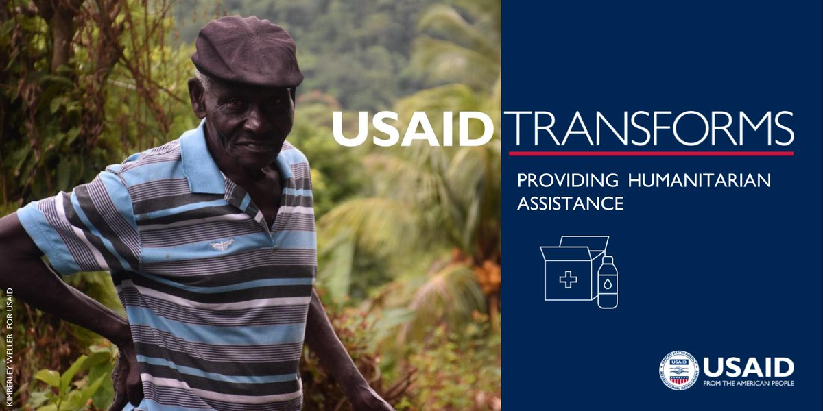 #USAIDTransforms by promoting democratic and #resilient societies.