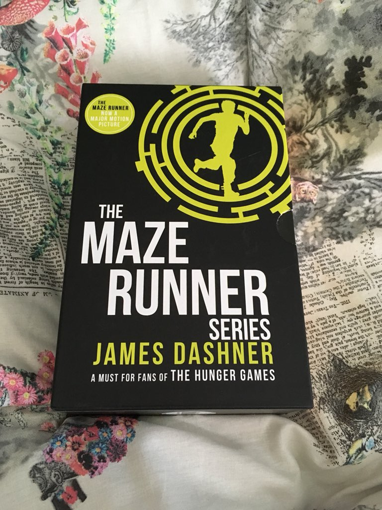 Georgia On Twitter Finally Got Round To Getting The Maze Runner