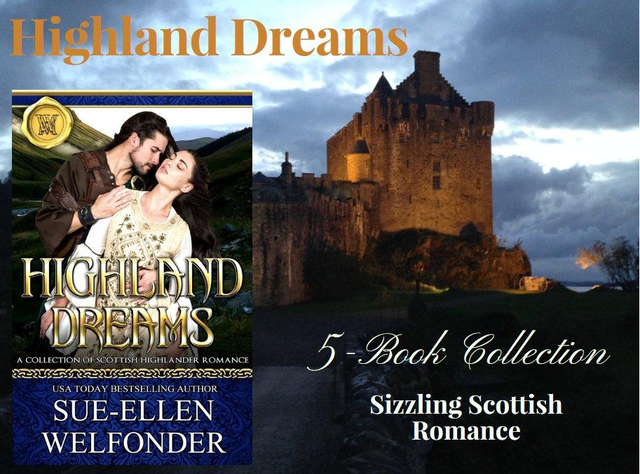 #NewRelease Sizzling #Scottish Romance: HIGHLAND DREAMS 5-Book #Boxset Collection of my best #Medieval #Highlanders #ScottishHistoricalRomance .99 or #FREE w/ #KU  https:// amzn.to/2H8BXcp  &nbsp;   #NewBundles #mustreads #ASMSG<br>http://pic.twitter.com/eKPGulMQI6