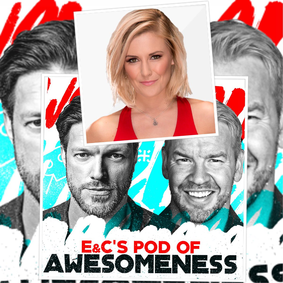 Tomorrow on @EandCPod we have @ReneeYoungWWE aka Sterling who pontificates on problems in the pond, the PECR Quad Pod, ketchup chips, hickory sticks, sunshine and strip malls. Although it may not necessarily sound like it, it's a helluva fun show. Plus @THETOMMYDREAMER in person
