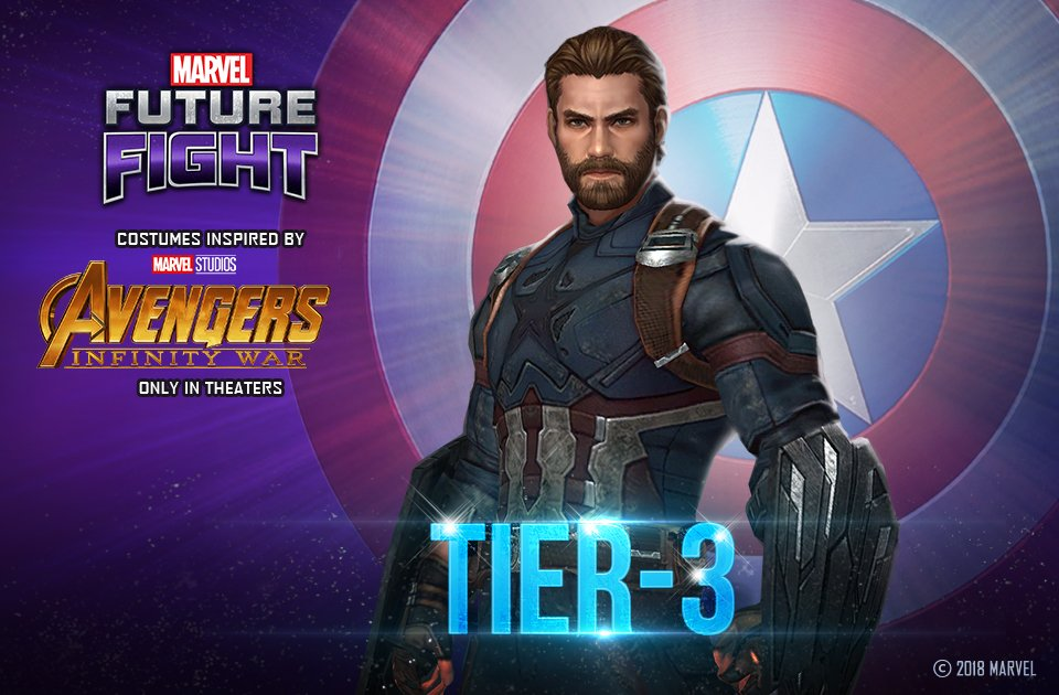 marvel future fight on twitter captain america is the first to
