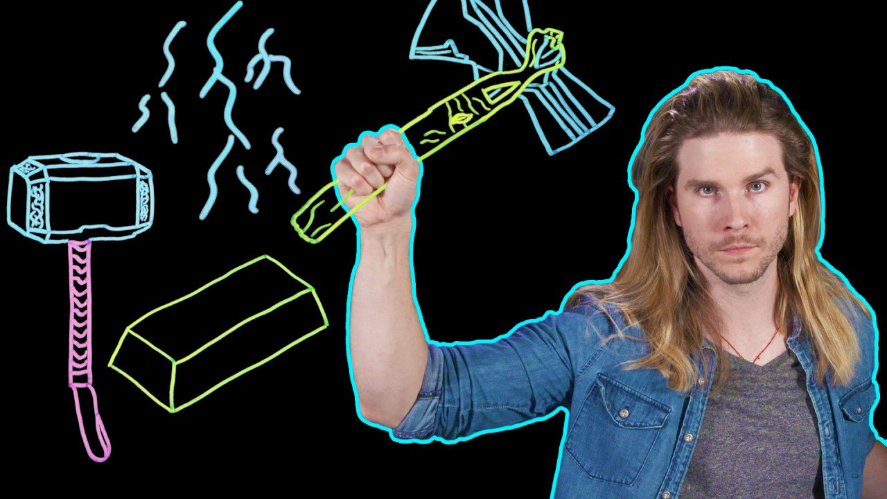 How to forge #Thor's #InfinityWar weapon https://t.co/4oL1foYP7m (minor spoiler warning) #BecauseScience https://t.co/0CfV2GbwNI