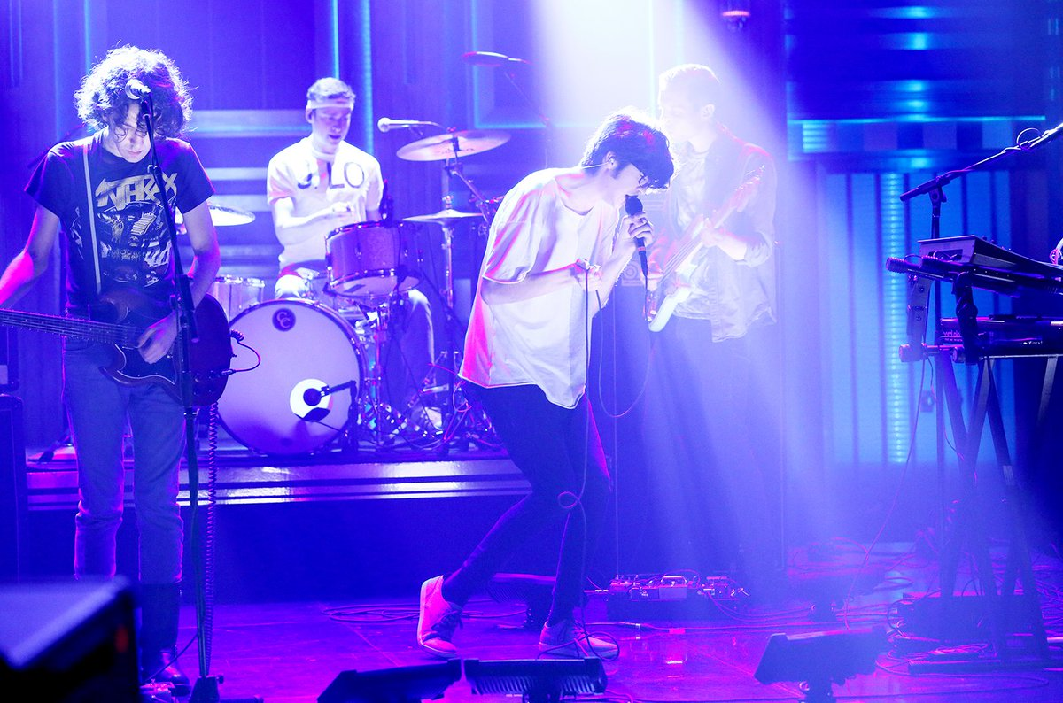 Billboard On Twitter Car Seat Headrest Perform Funky Frantic Bodys FallonTonight Tco 8KHZG7rK4A