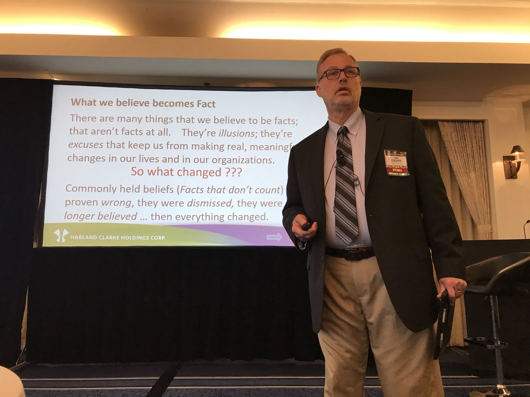 If.  You ever have.  A chance to hear Tim Cooper -   Do it.   He is a thinker! @SolimarSystems #SolimarUC18 https://t.co/qyznkYl5TB