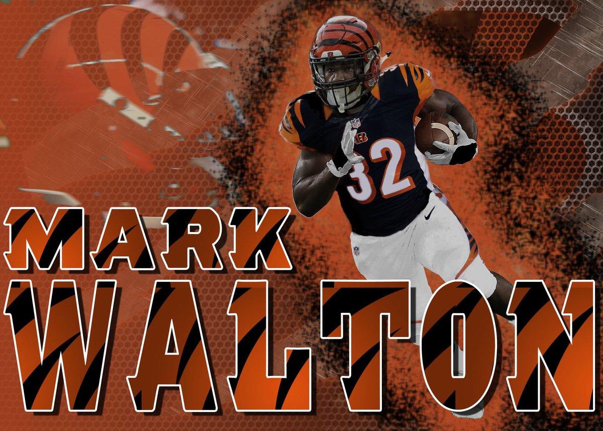 mark walton bengals jersey