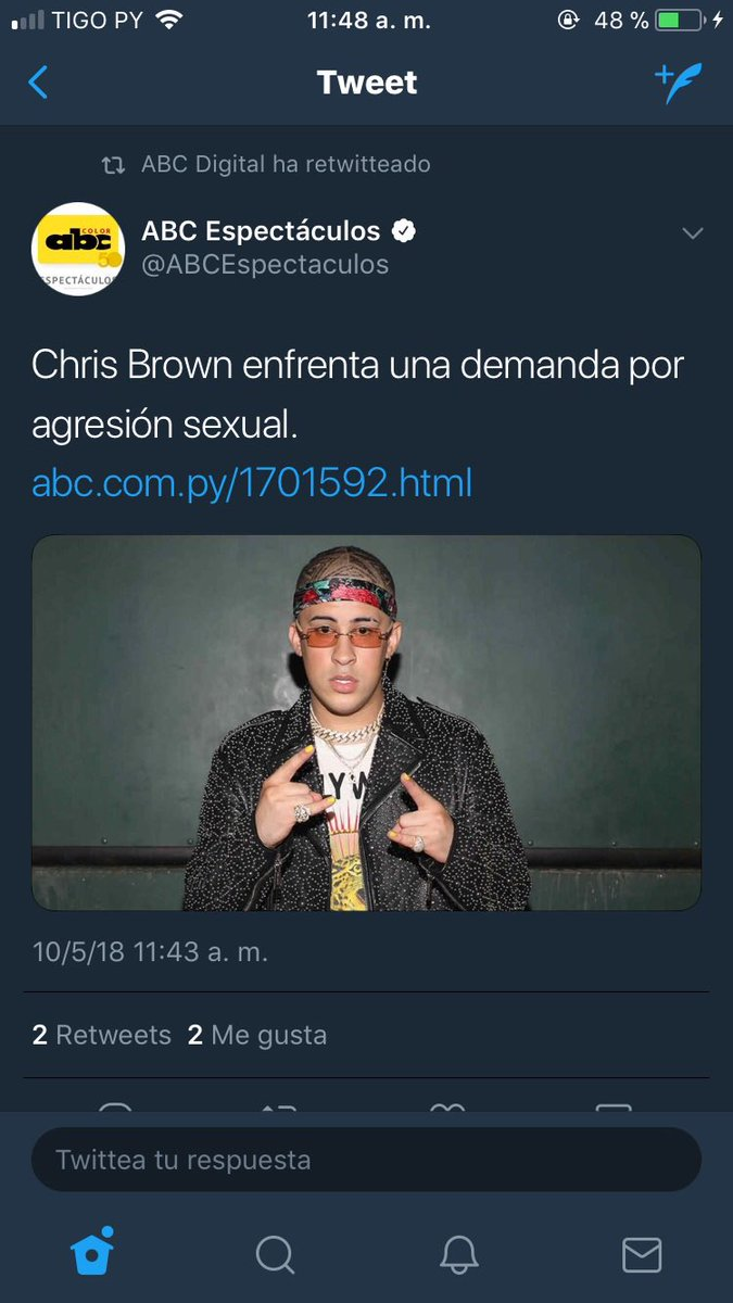 Ana Britos's photo on Chris Brown