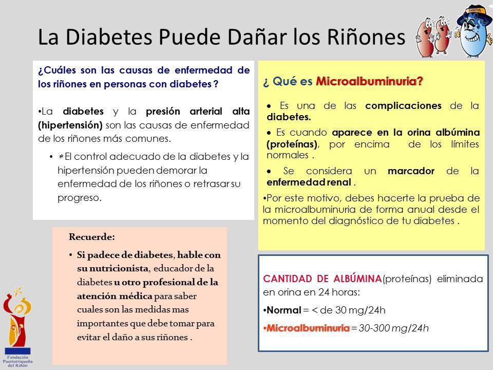 prueba de microalbúmina en orina para diabetes