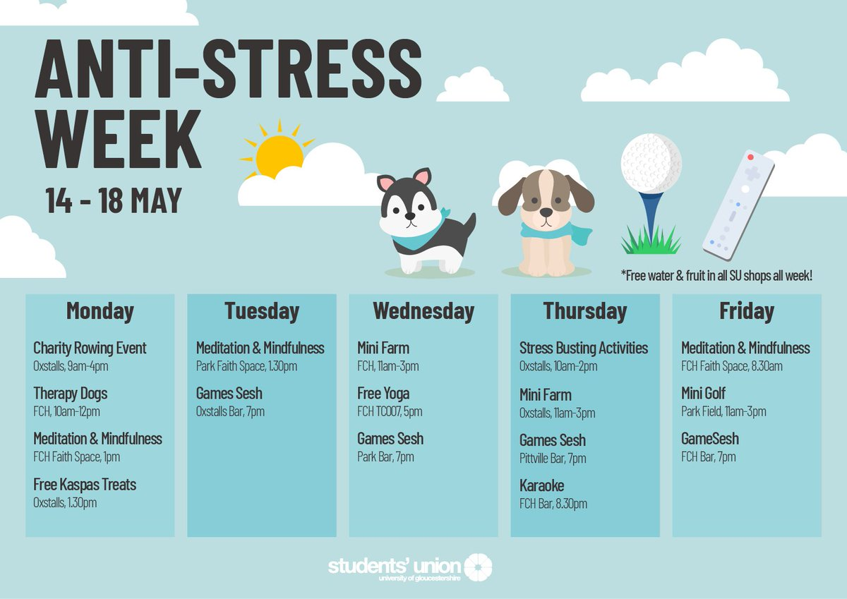 So We Know Students Are Stressed Out >> Your Students Union On Twitter We Know Exams Assessment