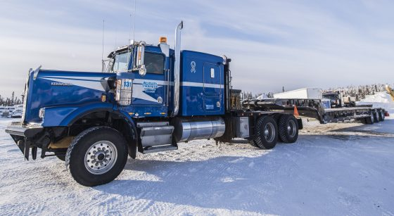 "Kenworth Truck Co. on Twitter: ""Blair Weatherby's 1998 #Kenworth #C500 is used in Canada's Northwest Territories on and off the ice roads."