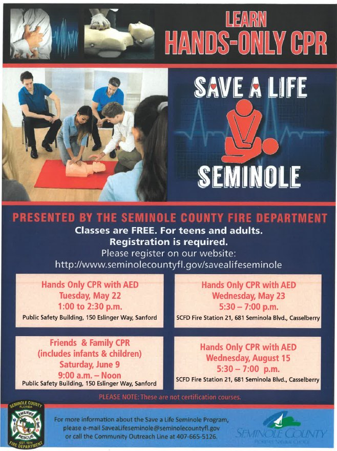 Seminole County Fl On Twitter Join Seminole County Fire