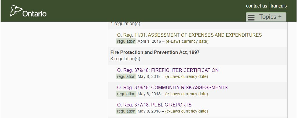 Oafc On Twitter New Ontario Fire Regulations Are Now Available