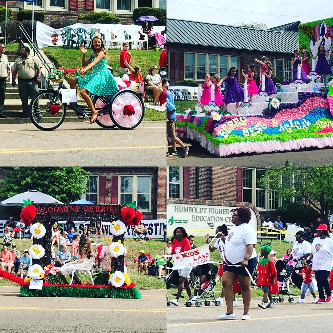 Valerie June On Twitter Humboldt Tn Strawberry Festival Parade