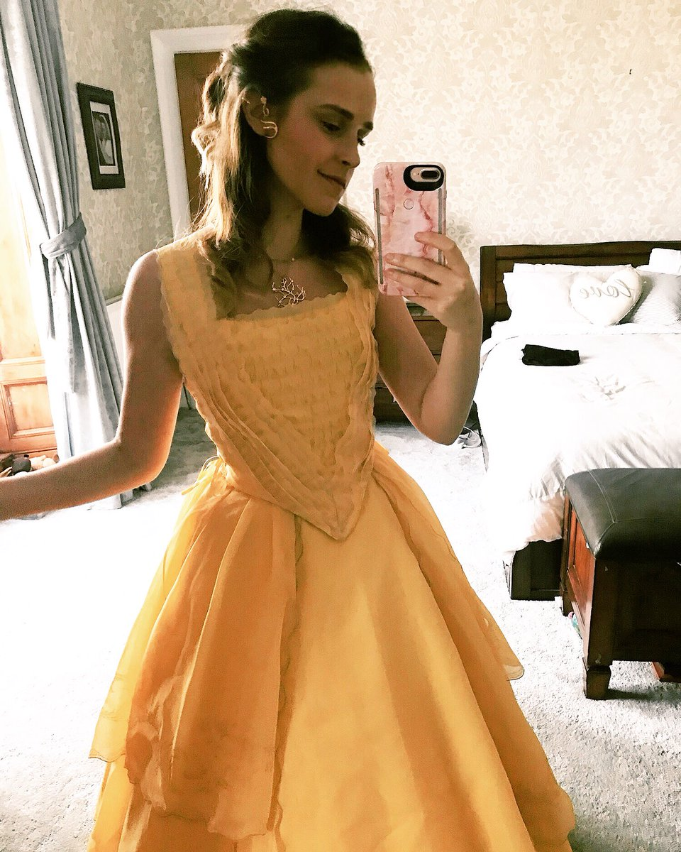 Meg On Twitter Question Does Emmawatson Still Have Her Belle Gown And Does She Just Wear It Around The House To Feel Pretty Because My Dress Is Just For Comicons And I