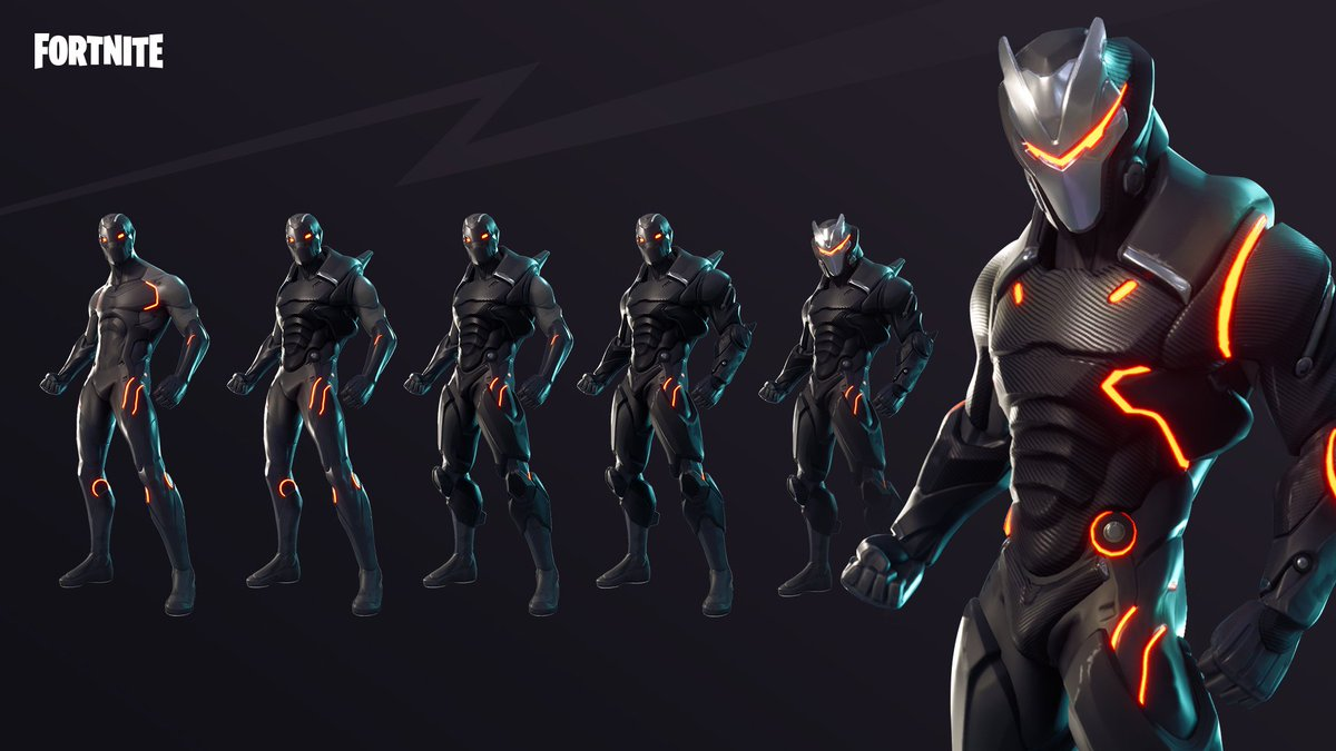L Evolution Des Skins Omega Et Carburo En Image Sur Fortnite
