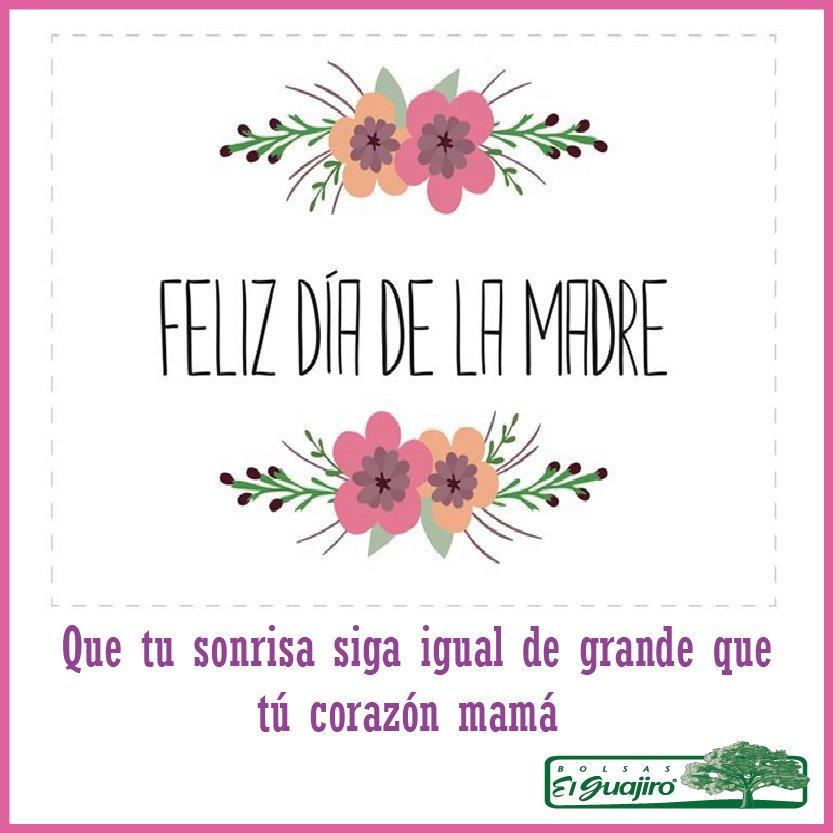 Gracias por hacer fácil, el trabajo más difícil del mundo ¡Feliz día a todas las madres, de parte de todo el equipo de Bolsas el Guajiro! https://t.co/cdIw5mOXpu