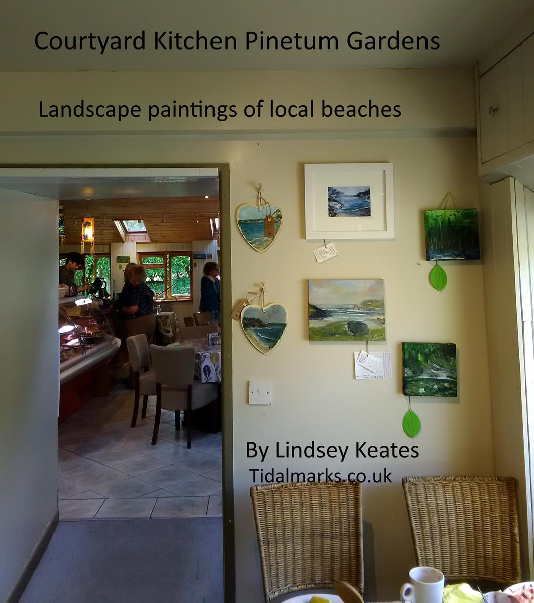 Stop By The Courtyard Kitchen For Lunch Or #icecream, See Beautiful  #Landscape #paintings U0026 #artprints Of #parbay #readymoneycove #polkerris  #menabilly ...