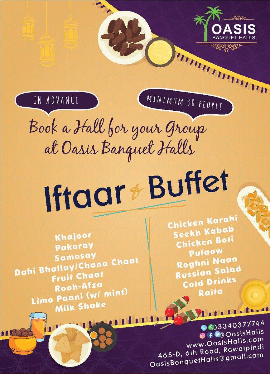 oasis banquet halls on twitter this ramadan