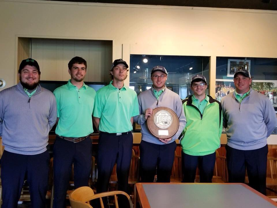 Congratulations to the ACM Golf Team on their recent showing at the Region XX Championship and to Brent Wilkerson for being named Individual Regional Champ.  Great job!   #EngageYourFuture #alleganycollegeofmaryland #ExperienceACM #ACMSports #athletics #golf<br>http://pic.twitter.com/SAC2OZAP4l