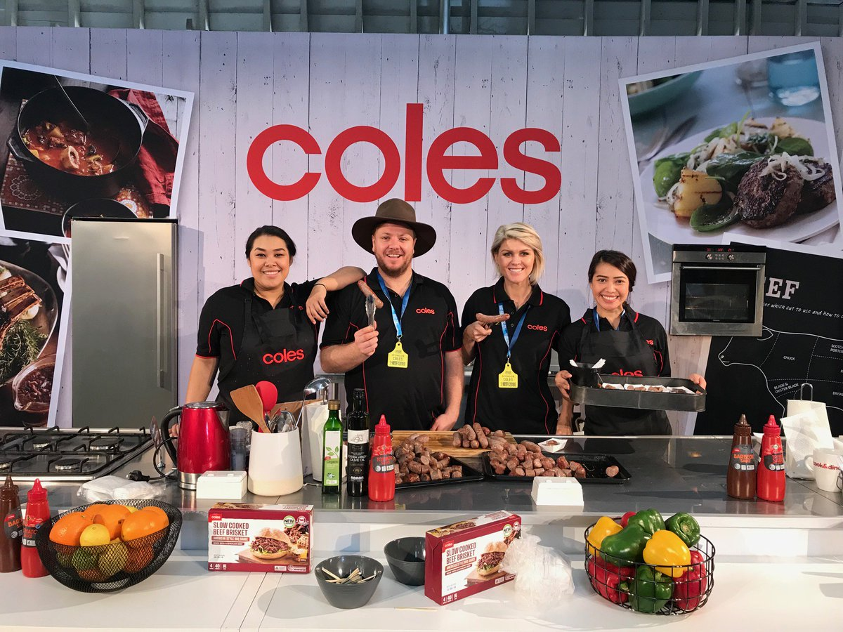 Come along to the Walter Pearce Pavilion to sample some delicious Coles Sausages for Beef Week. Yum! #BeefWeek #BeefAus2018 #BA2018