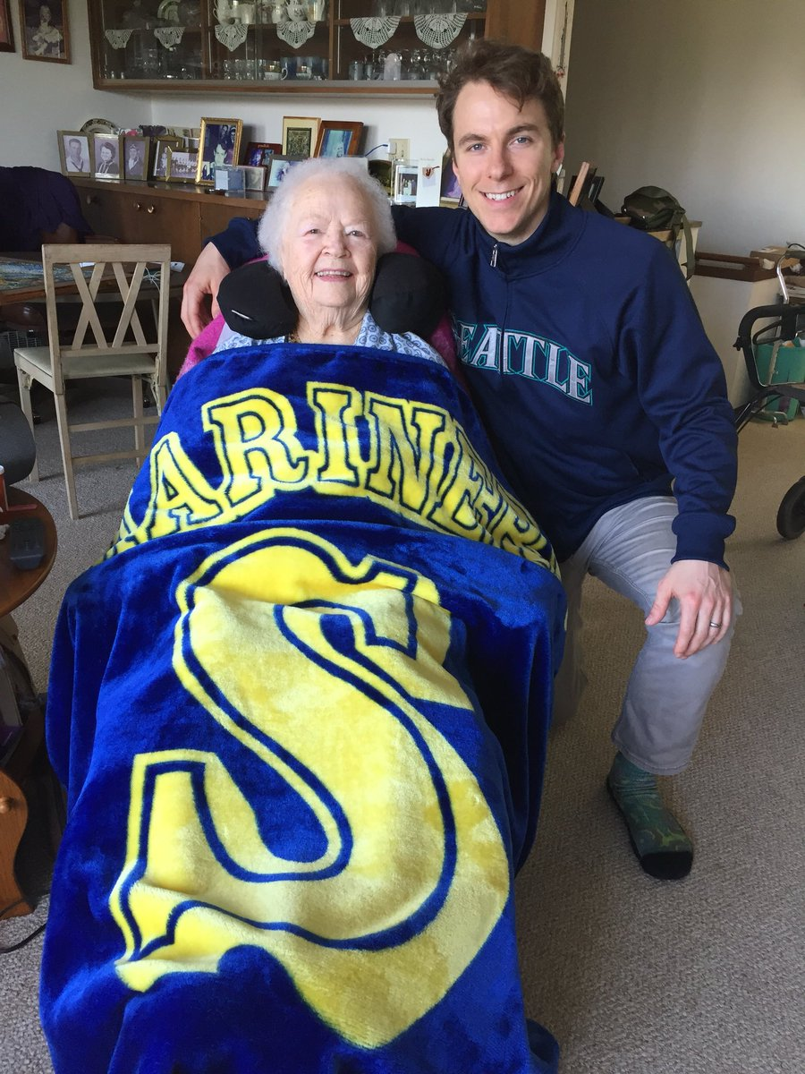 Seattle Mariners On Twitter Happy Birthday Grandma
