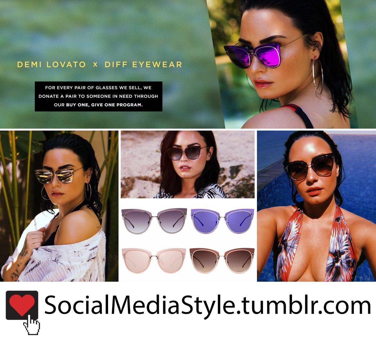 4f8d8b406a Buy them here  http   socialmediastyle.tumblr.com post 173781090415 demi- lovato-x-diff-eyewear-sunglasses …pic.twitter.com erU62rLudT