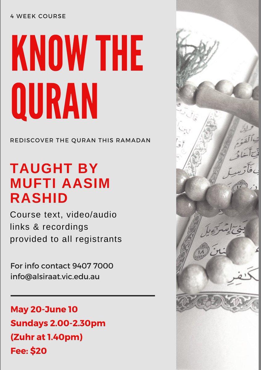 Mufti Aasim Rashid on Twitter: