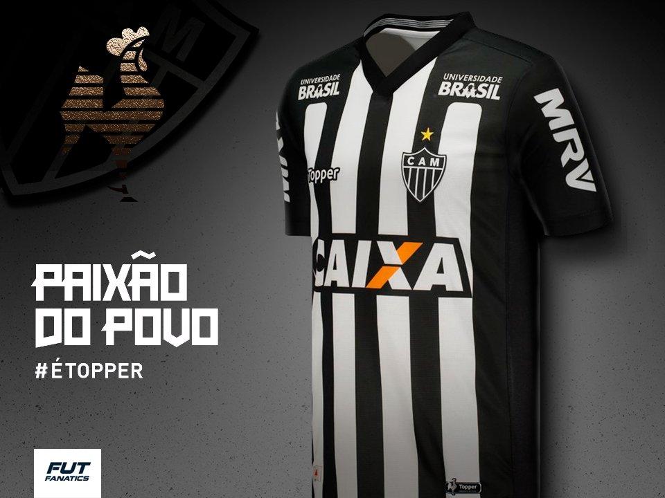 2d9ec16930 A paixão do povo é o novo manto do Galo Forte Vingador. Confira a nova  camisa do Atlético Mineiro aqui na Fut. EU ACREDITO >>  https://goo.gl/1xv8QM ...